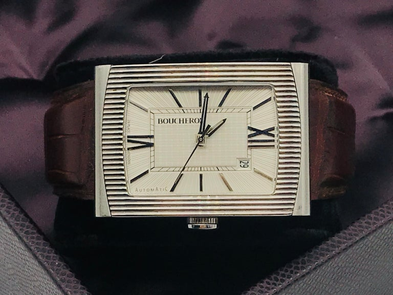 Boucheron Watches Reflet XL Automatic Anniversary 150 Years For Sale 13