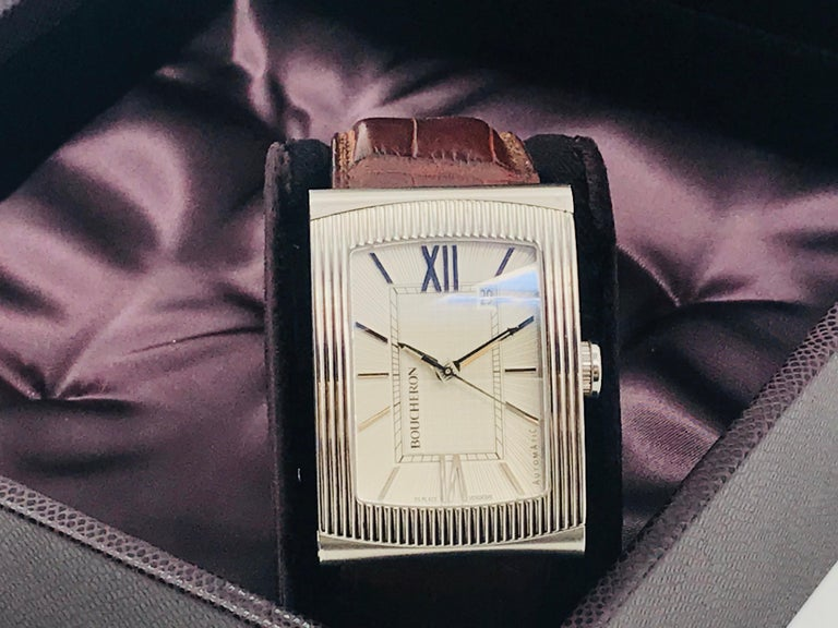 Boucheron Watches Reflet XL Automatic Anniversary 150 Years For Sale 14