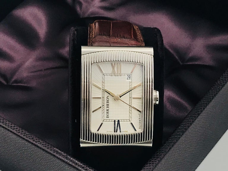 Boucheron Watches Reflet XL Automatic Anniversary 150 Years For Sale 15