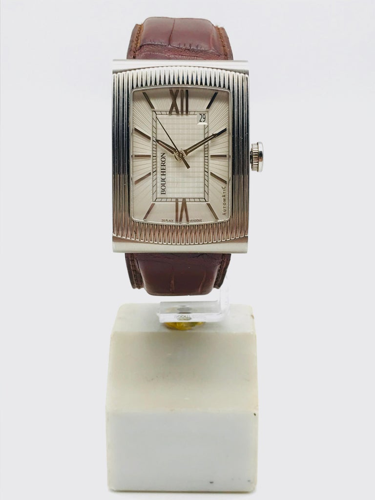 Boucheron Watches Reflet XL Automatic Anniversary 150 Years In Excellent Condition For Sale In Vannes, FR