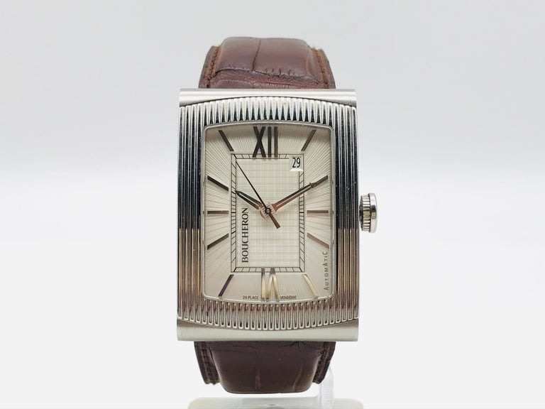 Women's Boucheron Watches Reflet XL Automatic Anniversary 150 Years For Sale