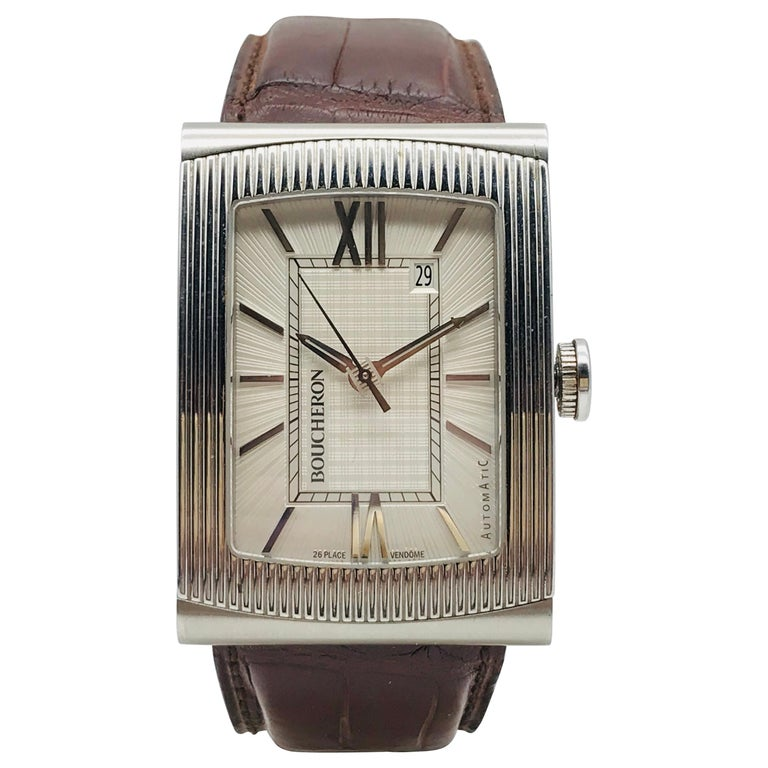 Boucheron Watches Reflet XL Automatic Anniversary 150 Years For Sale