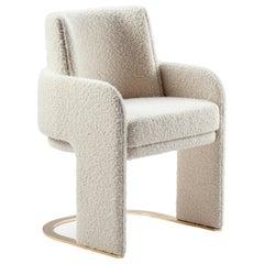 Bouclé Odisseia Chair by Dooq