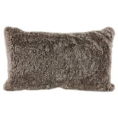 Boucle Shearling Sheepskin Pillow Cushion, Australian Made