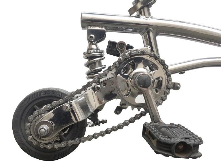 Polished Bouglione Circus Bike For Sale