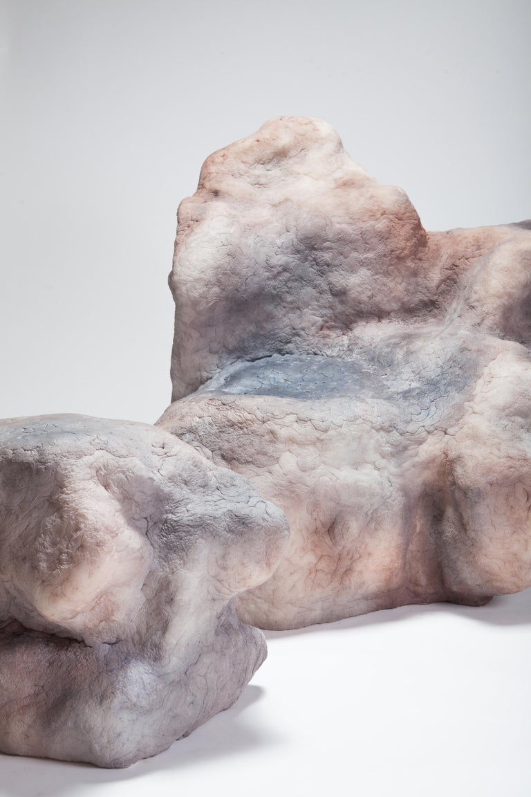 This piece was part of the group exhibition 'Nude' at the Everyday Gallery in Antwerp, Belgium and was on view during the event 'In Situ' in the Zaventemateliers in Brussels, Belgium. 