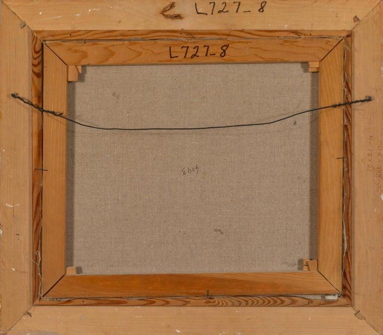 """Paint Antoine Blanchard """"Boulevard De La Madeleine"""" 18x21 For Sale"""