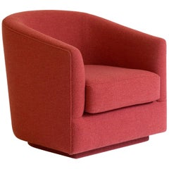 Boulevard Tub Armchair, 1970s Inspired Lounge Seating