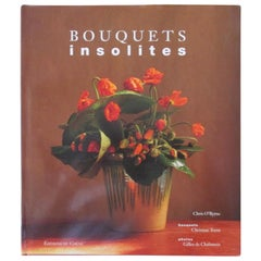 Bouquets Insolites Hardcover Book French