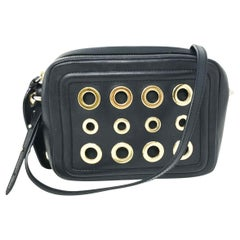 Boutique Moschino Crazy Chain Black Leather Women's Bag