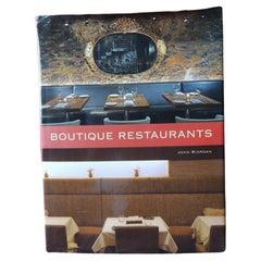 Boutique Restaurants Hardcover Decorating Vintage Book