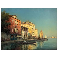 "Bouvard Antoine '1870-1955/56' ""View of Venice"""