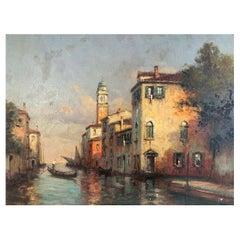 "Bouvard Antoine/Marc Aldine '1870-1955/56' ""View of Venice"""