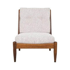 Bovenkamp & Ib Kofod-Larsen Attributed Lounge Chair in Oak, Dutch Design 1960s
