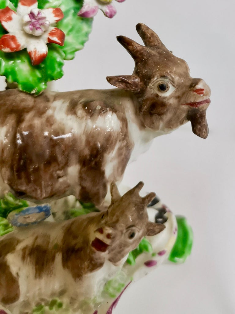 Late 18th Century Bow Figure of Goat and Kid, circa 1765 For Sale