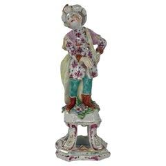 Bow Porcelain Figure of a Turk, C. 1760