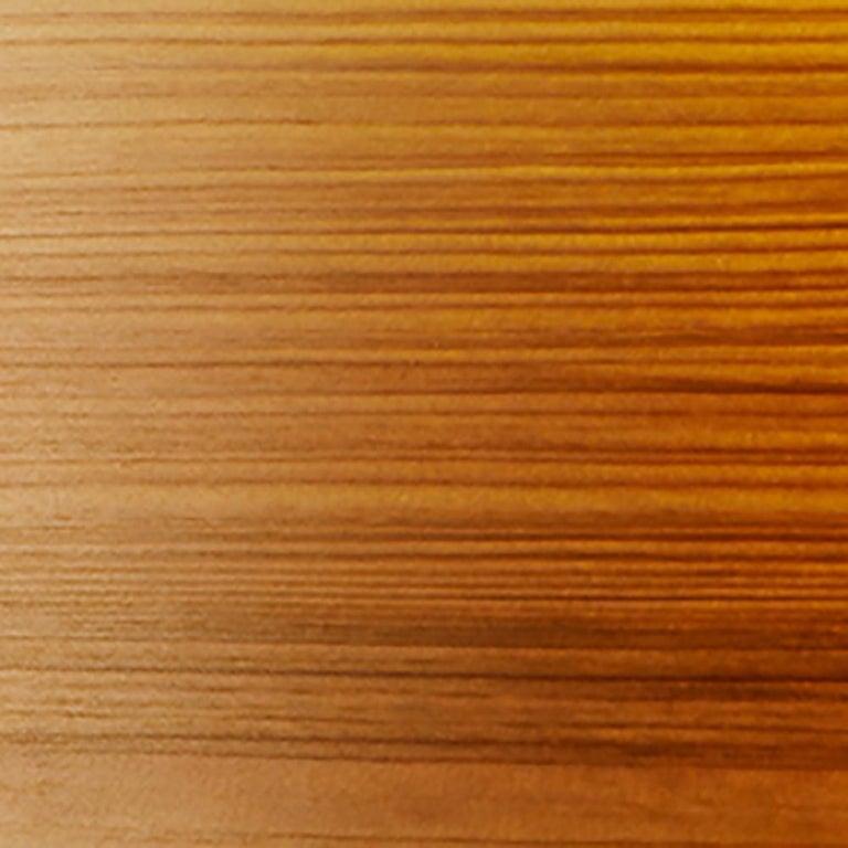 Veneer BOWEN Custom Cypress Wood Drum Chandelier Pendant For Sale