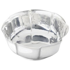 Bowl 3 in Solid Silver by Josef Hoffmann