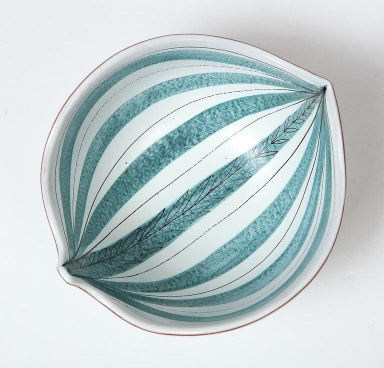 Bowl by Stig Lindberg, Sweden, circa 1950 For Sale 2