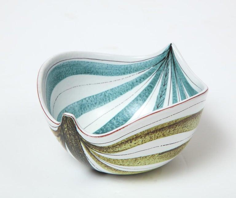 Bowl by Stig Lindberg, Sweden, circa 1950 For Sale 3