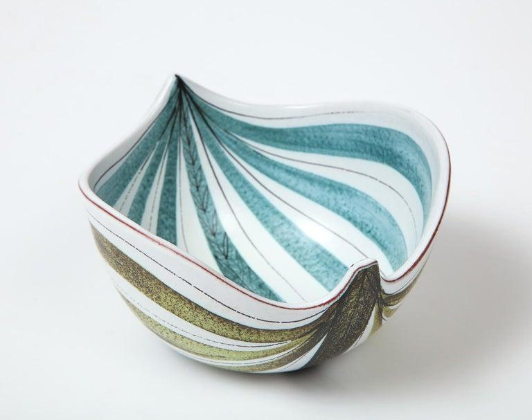 Bowl by Stig Lindberg, Sweden, circa 1950 For Sale 4