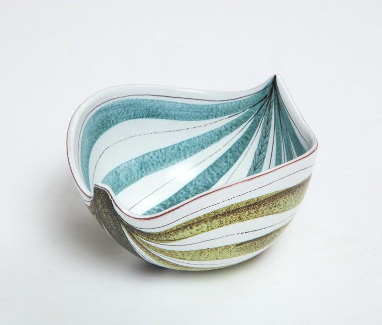 Mid-Century Modern Bowl by Stig Lindberg, Sweden, circa 1950 For Sale