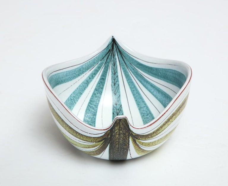 Swedish Bowl by Stig Lindberg, Sweden, circa 1950 For Sale