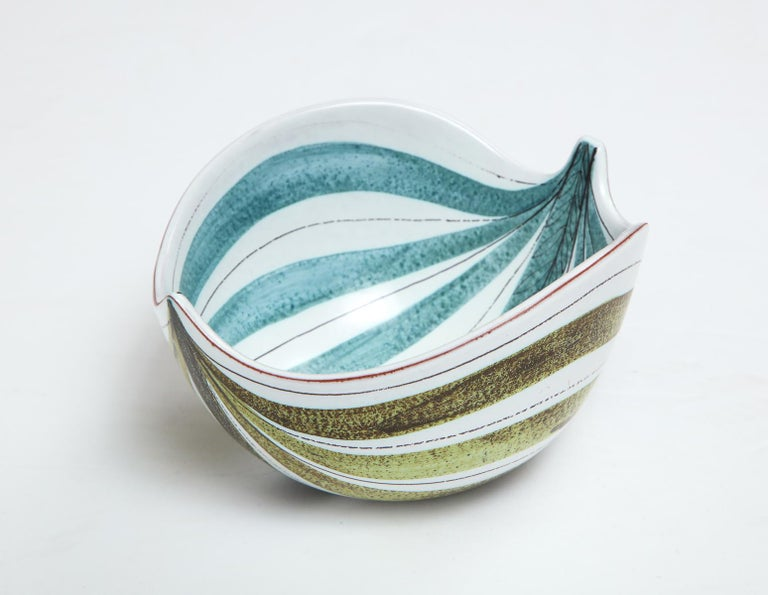 Mid-20th Century Bowl by Stig Lindberg, Sweden, circa 1950 For Sale