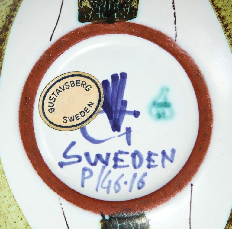 Bowl by Stig Lindberg, Sweden, circa 1950 For Sale 1