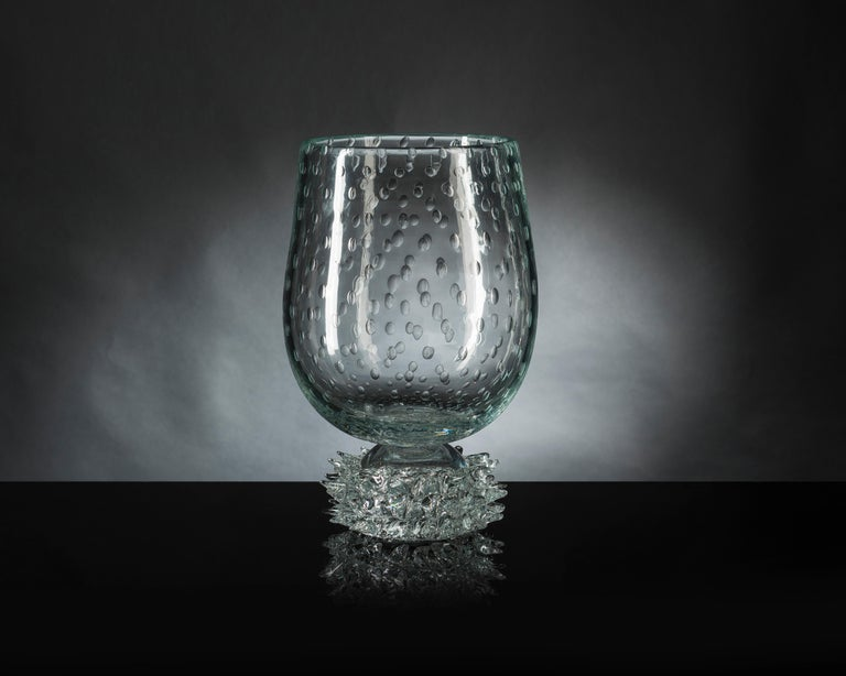 Deep focus on craftsmanship and made in Italy are emphasized by Muranese glass that characterizes several new products. The oldest handmade ability worldwide known is nowadays one of the few forms of crafts related to the world of art and design