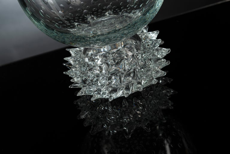 Modern Bowl Correr Large, Muranese Glass, Italy For Sale