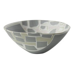 Bowl Designed by Aune Siimes for Arabia, Finland, 1950s