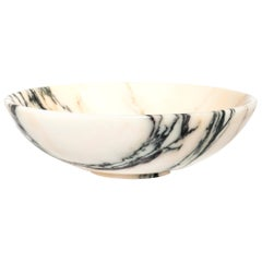 Bowl in Paonazzo Marble