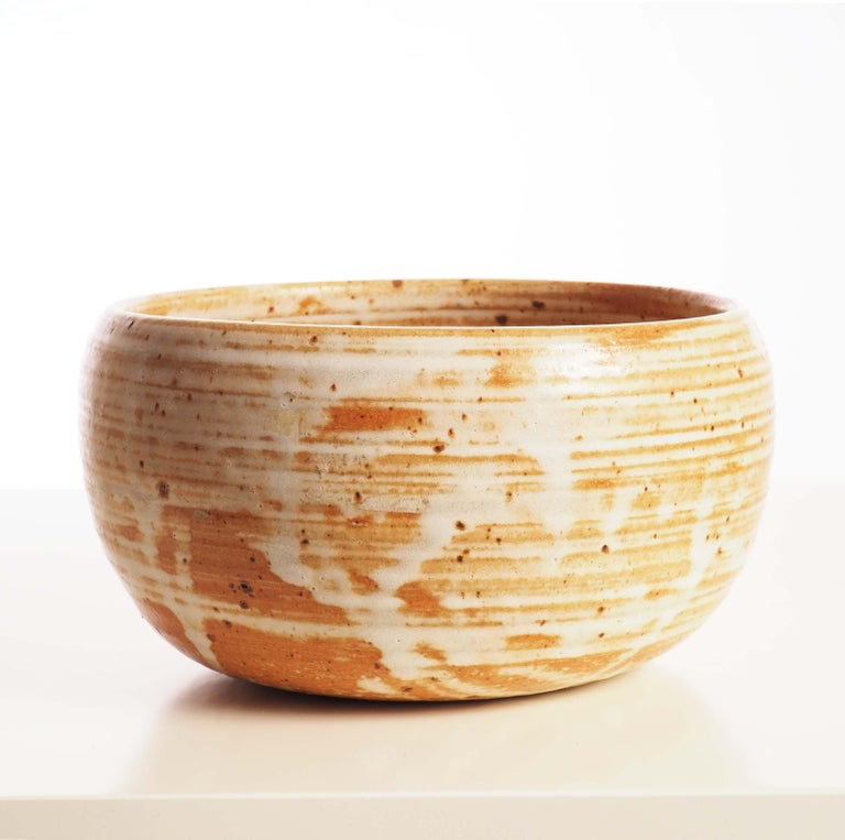 Finnish Bowl in Stoneware by Arabia, Finland For Sale