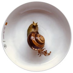Bowl with Snail Plate Hella Jongerius for Nymphenburg