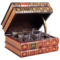 Box Forming Box For Aperitif Glasses, Crystal Sèvres Glasses