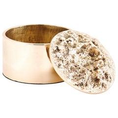 Box in Polished Bronze by FAKASAKA Design