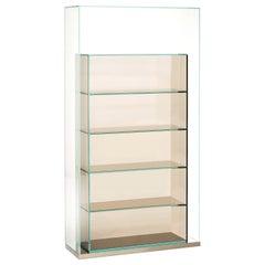 Box Inbox BIB03 Storage Unit in Green Glass by Philippe Starck from Glass Italia