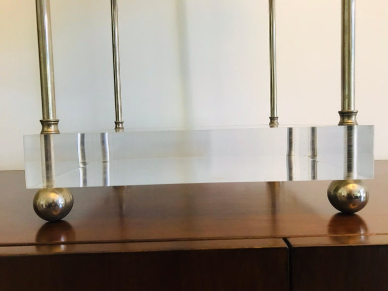 'Box-Line' Showcase Lamp, 1980s For Sale 4