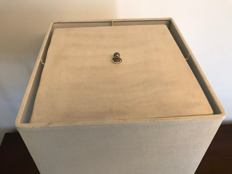'Box-Line' Showcase Lamp, 1980s For Sale 9