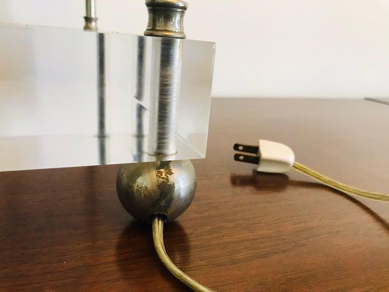 'Box-Line' Showcase Lamp, 1980s For Sale 1