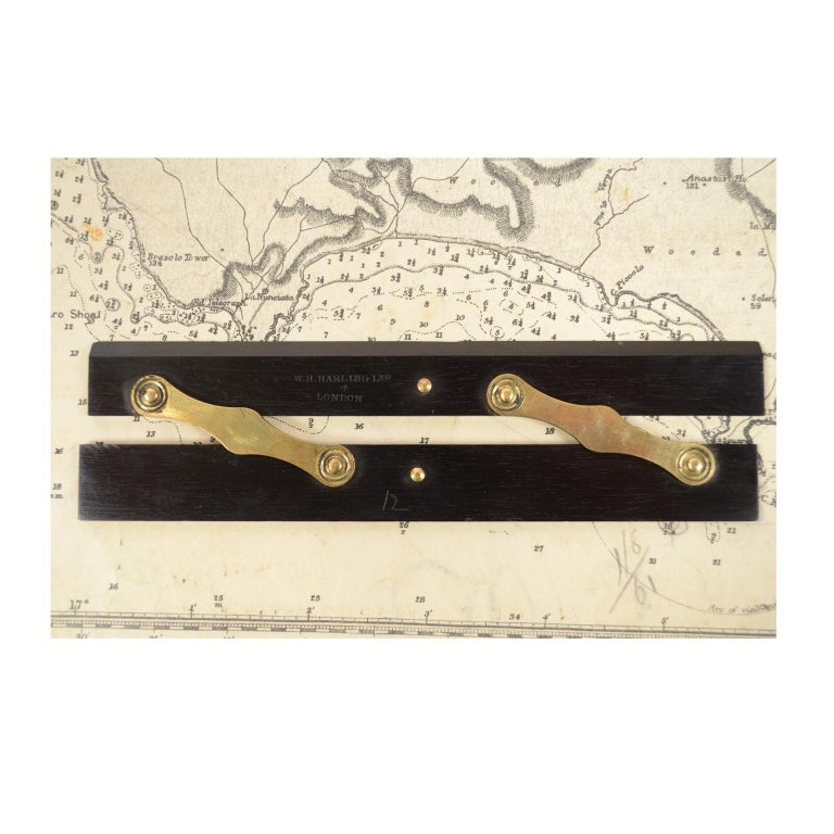 Box of Compasses from the Second Half of the 19th Century For Sale 9