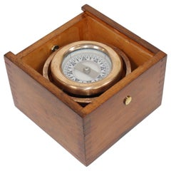 Boxed Boat Compass by Wilcox Crittenden