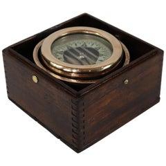 Boxed Boat Compass Wilcox Crittendon