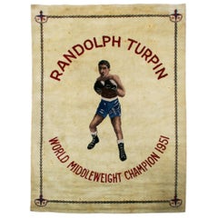 Boxing Carpet, Randolph Turpin, Middleweight Champion of the World, Sugar Ray