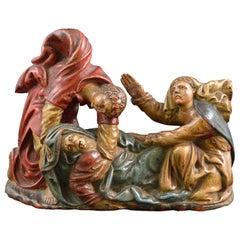 Boxwood Sculpture, Spain, 16th Century