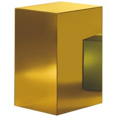 Boxy Large Storage Unit in Sunny Yellow Glass by Johanna Grawunder, Glas Italia