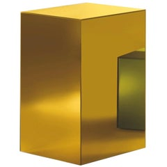 Boxy Large Storage Unit in Sunny Yellow Glass by Johanna Grawunder, Glas Italia