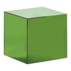 Boxy Small Storage Unit in Sunny Yellow Glass by Johanna Grawunder, Glas Italia