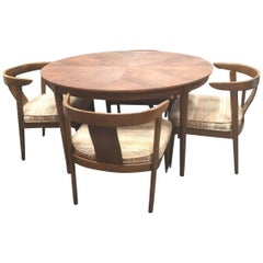 B.P. John Midcentury Dining Set With Chairs